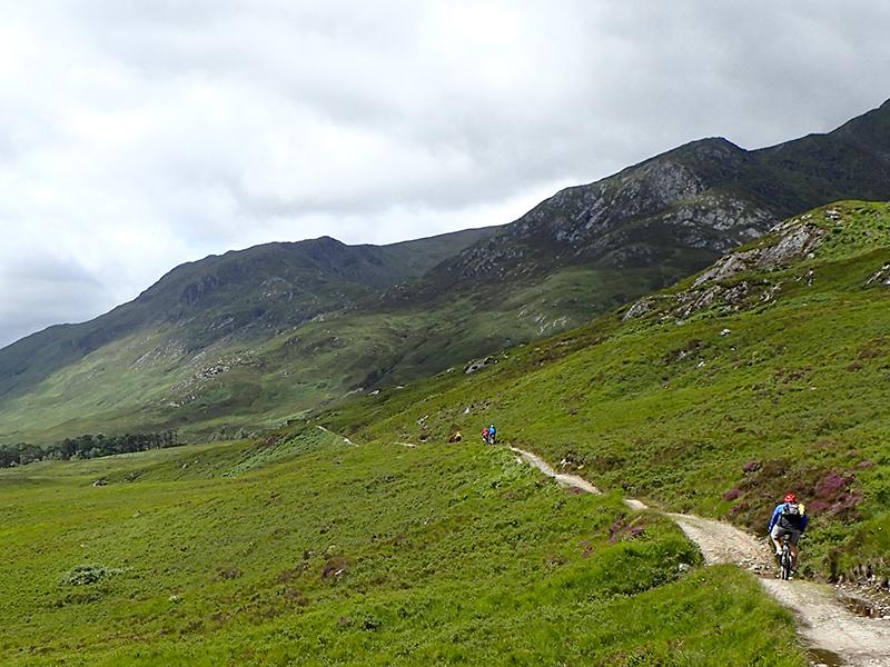 Skotsko na kole